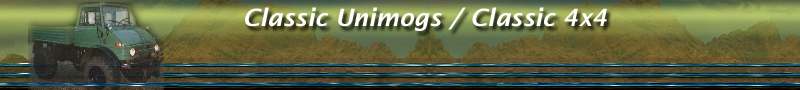 Welcome to Classic Unimogs: a reputable online shop and showcase for Unimog, C303 and off-road fans!