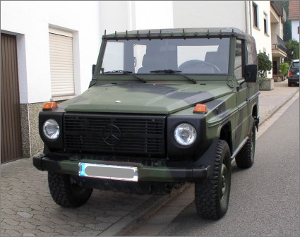 Mercedes Benz GD 250 Wolf, very clean condition
