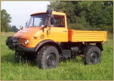 Classic Unimogs Sold - 1978 Unimog 406 Hard Cab