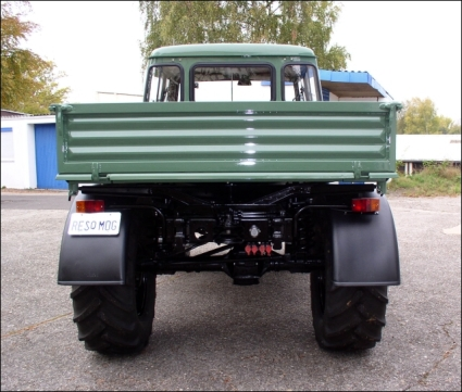 1977 Unimog 416 DoKa with front and rear Hydraulics