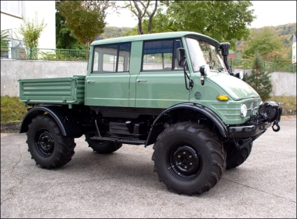 1977 Unimog 416 DoKa, ex-police model with low hours