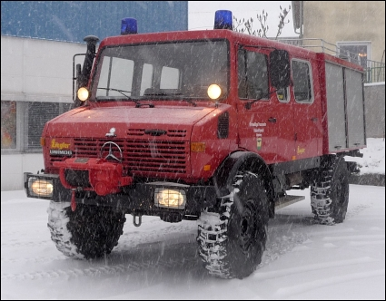 1984 Unimog 1300 DoKa Ex-Fire Truck, Fast Axles, Turbo