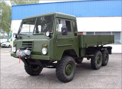 1975 Swedish Military Volvo C303/TGB 13, 6x6 with a Flat Bed